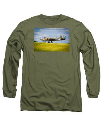 B-25 Landing Original Long Sleeve T-Shirt