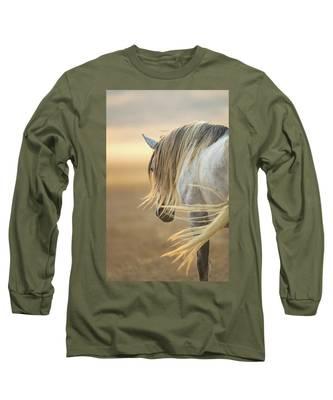 Band Stallion Sunrise Long Sleeve T-Shirt