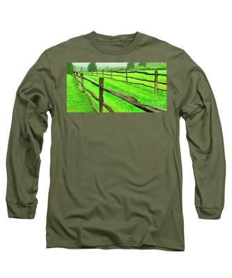 Bridle Trail Long Sleeve T-Shirt