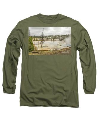 Colorful Thermal Pool Long Sleeve T-Shirt