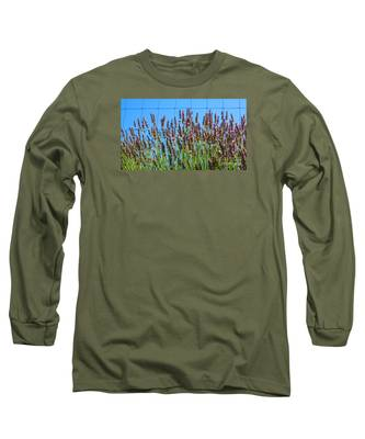 Country Lavender IIi Long Sleeve T-Shirt