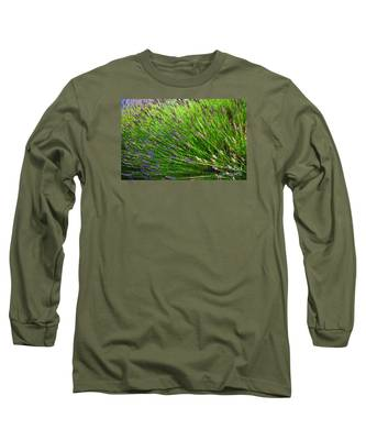 Country Lavender Vi Long Sleeve T-Shirt