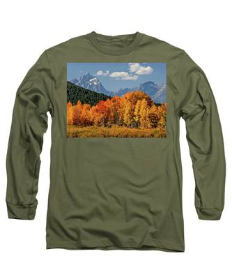 Fall In The Tetons Long Sleeve T-Shirt