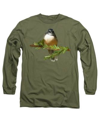 Fantail  Long Sleeve T-Shirt