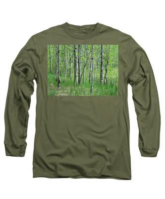 Field Of Teens Long Sleeve T-Shirt