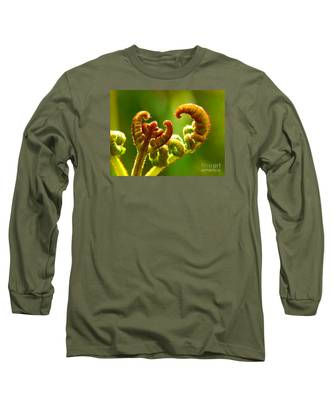 Frond Fern Long Sleeve T-Shirt