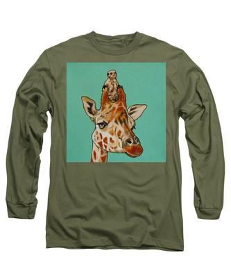 Gerald The Giraffe Long Sleeve T-Shirt