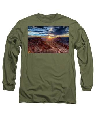 Grand Canyon Sunburst Long Sleeve T-Shirt