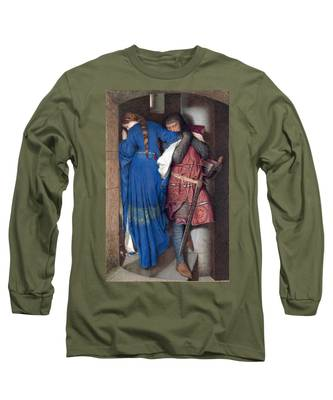 Hellelil And Hildebrand Or The Meeting On The Turret Stairs Long Sleeve T-Shirt