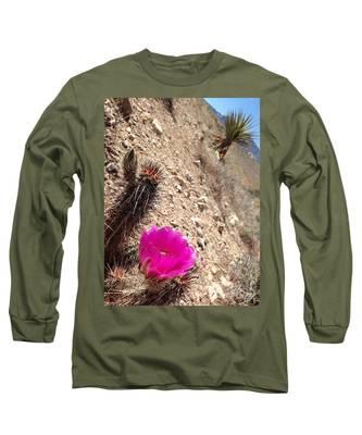 Hillside Raspberry Long Sleeve T-Shirt