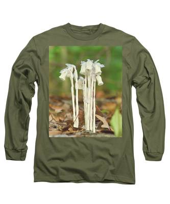 Indian Pipes Long Sleeve T-Shirt