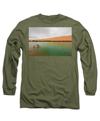 Libyan Oasis Long Sleeve T-Shirt