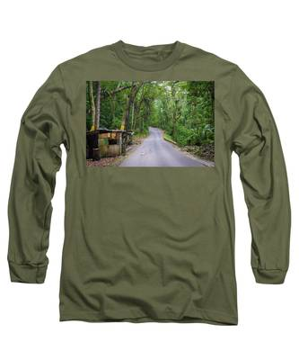 Lonely Country Road Long Sleeve T-Shirt