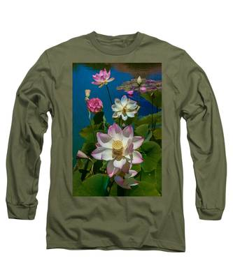 Lotus Pool Long Sleeve T-Shirt