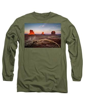 Monument Valley Sunset Long Sleeve T-Shirt