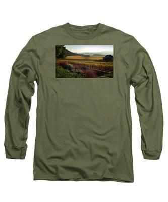 Napa Valley California Long Sleeve T-Shirt