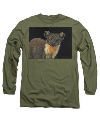 Pine Marten Long Sleeve T-Shirt