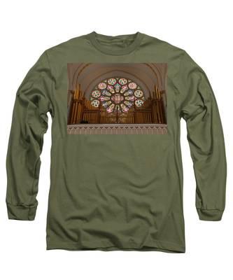 Pipe Organ - Church Long Sleeve T-Shirt