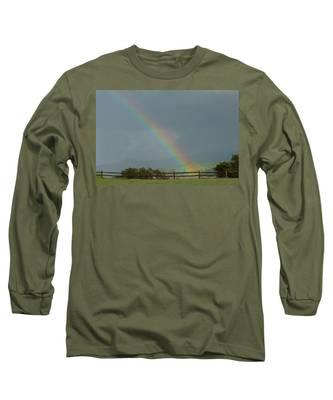 Rainbow On Valhalla Dr. Long Sleeve T-Shirt