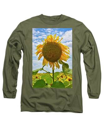Long Sleeve T-Shirt featuring the photograph Sister Golden Hair by Skip Hunt