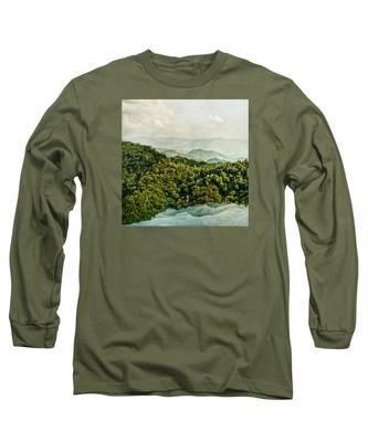 Smoky Mountain Reflections Long Sleeve T-Shirt