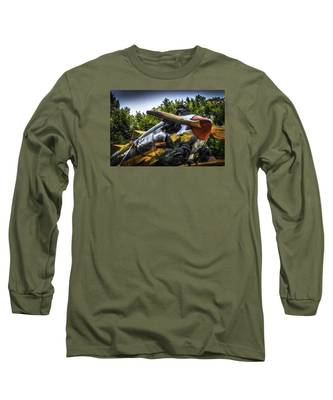 Static And Shiny Long Sleeve T-Shirt