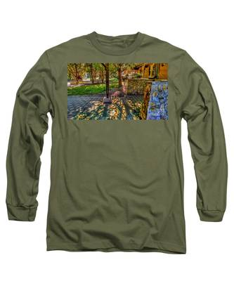 Sunset At Community Park In Montville, New Jersey Long Sleeve T-Shirt