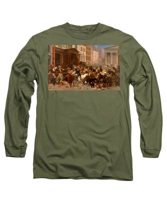 The Bulls And Bears In The Market Long Sleeve T-Shirt