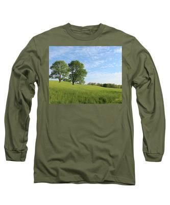 Summer Trees 3 Long Sleeve T-Shirt