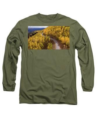 Winding Through Fall Long Sleeve T-Shirt