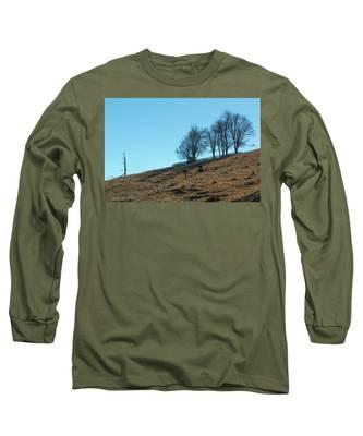 Windswept Trees - December 7 2016 Long Sleeve T-Shirt