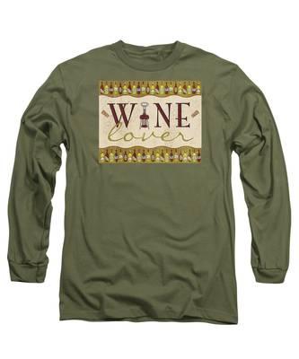 Wine Lover Long Sleeve T-Shirt