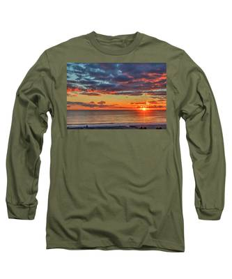 End Of Day Light Show Long Sleeve T-Shirt