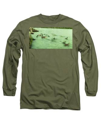 Ghost Ducks Long Sleeve T-Shirt