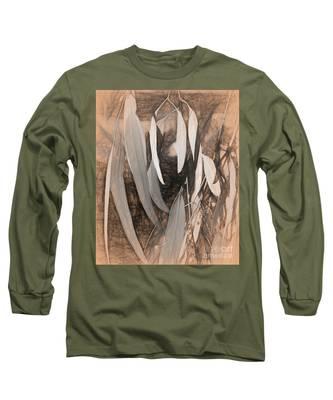 Gum Leaves Long Sleeve T-Shirt