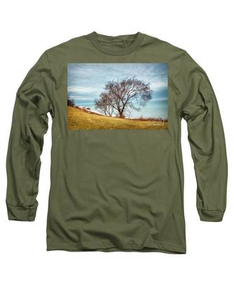 Lakeshore Lonely Tree Long Sleeve T-Shirt