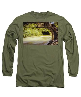 River Banks In Trelawny Jamaica Long Sleeve T-Shirt