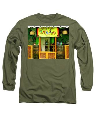 Roadside Watering Hole Long Sleeve T-Shirt