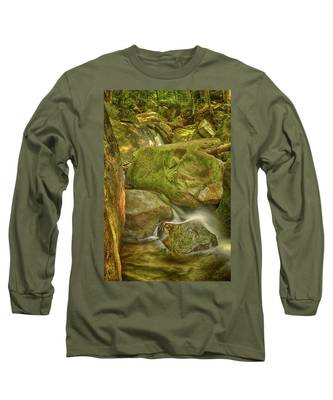 Wet Rocks Long Sleeve T-Shirt