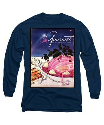 A Gourmet Cover Of Mousse Long Sleeve T-Shirt