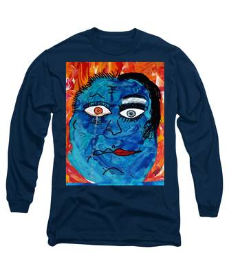 Bipolar Blues Long Sleeve T-Shirt