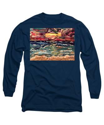 Capricious Sea Long Sleeve T-Shirt