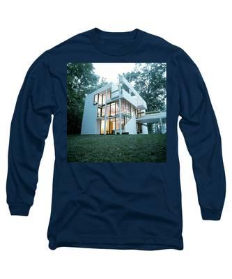 Exterior Of Mr. And Mrs. Jay Hanslemann's Long Sleeve T-Shirt