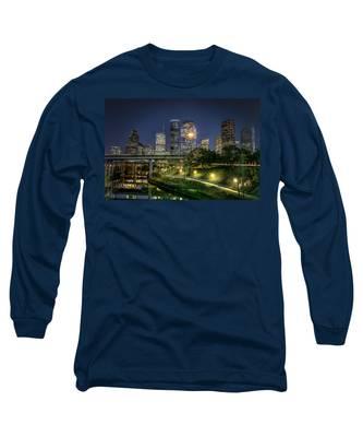 Houston On The Bayou Long Sleeve T-Shirt