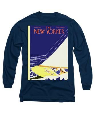 New Yorker August 27 1932 Long Sleeve T-Shirt