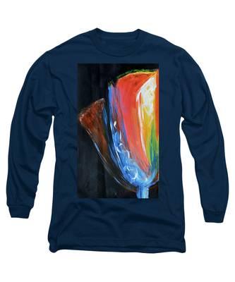Night Blooms Long Sleeve T-Shirt