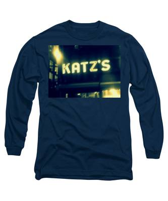 Nyc's Famous Katz's Deli Long Sleeve T-Shirt