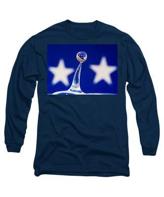 Patriotic Pop Long Sleeve T-Shirt