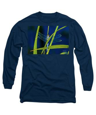 Brilliant Dragon Fly Long Sleeve T-Shirt