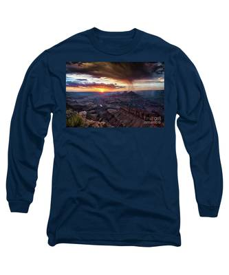 Grand Canyon Monsoon Sunset Long Sleeve T-Shirt